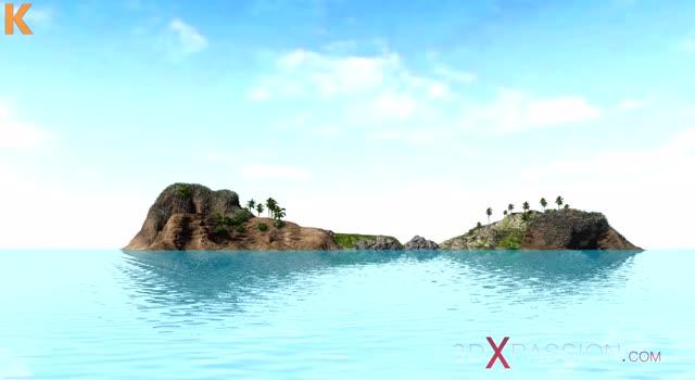 Futai animalic pe o insula pustie